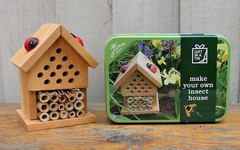 Apples To Pears Make Your Own Insect House - Credit: John Lewis & Partners