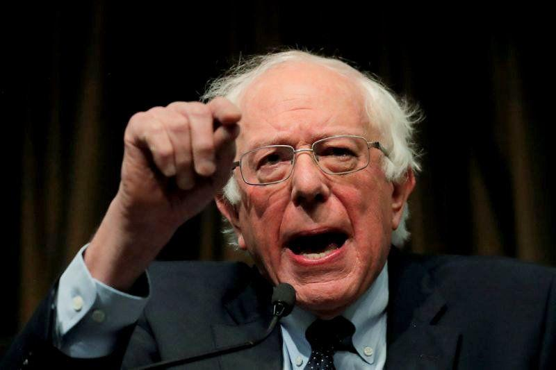 Sen. Bernie Sanders, I-Vt., speaks at the 2019 National Action Network conference in New York City on Friday. (Photo: Lucas Jackson/Reuters)