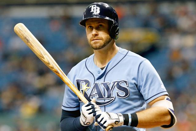"After playing for the Rays for ten years, <a class=""link rapid-noclick-resp"" href=""/mlb/players/7914/"" data-ylk=""slk:Evan Longoria"">Evan Longoria</a> has been traded to the Giants. (Getty Images)"
