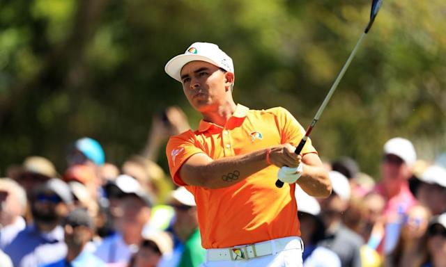 "<span class=""element-image__caption"">Rickie Fowler shot a 64, his best round of the year, in the first round of the Shell Houston Open.</span> <span class=""element-image__credit"">Photograph: Richard Heathcote/Getty Images</span>"