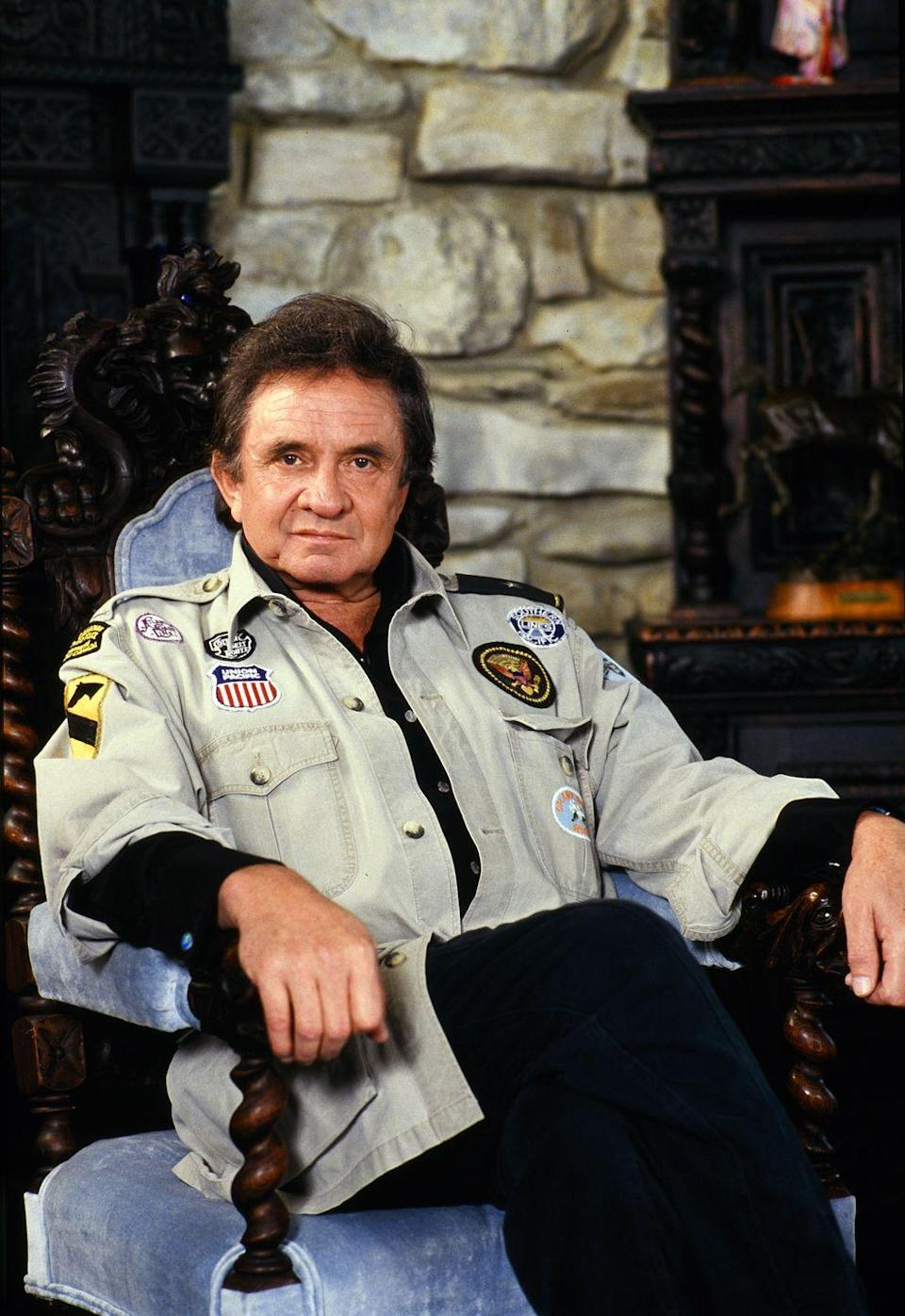 """<p>In 1988, Johnny Cash was having an emergency double coronary bypass when he came down with pneumonia—and the combination almost killed him. In his book <em><a href=""""https://www.amazon.com/Cash-Autobiography-Johnny/dp/0060727535?tag=syn-yahoo-20&ascsubtag=%5Bartid%7C2141.g.36311064%5Bsrc%7Cyahoo-us"""" rel=""""nofollow noopener"""" target=""""_blank"""" data-ylk=""""slk:Cash: The Autobiography"""" class=""""link rapid-noclick-resp"""">Cash: The Autobiography</a></em>, he said the experience changed his outlook on life: """"That great light is a light that now leads me on and directs me and guides me. That great light is the light of this world. That great light is the light out of this world, and into that better world. And I'm lookin' forward to walkin' into that great light.""""</p>"""