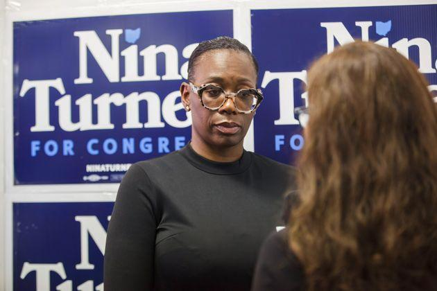 Nina Turner, a left-wing rockstar, reintroduced herself to voters as a loyal Democrat with local roots. But her recent history as an anti-establishment brawler caught up with her. (Photo: Stephen Zenner/SOPA Images/Getty Images)
