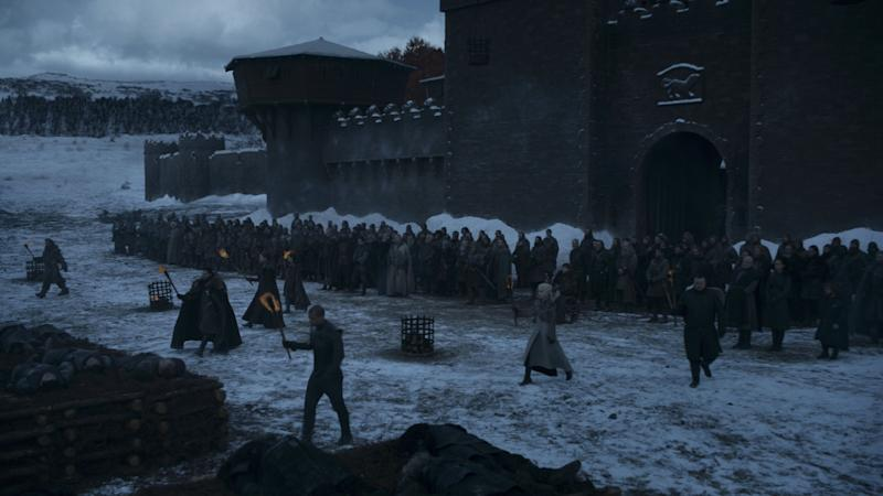 The long night gives way to the dawn in 'Game of Thrones' (Photo: HBO)