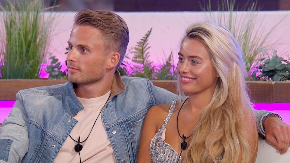 """<p><strong>Relationship status: <strong>Broken up / </strong>Mugged off</strong><br></p><p>Charlie and Ellie channelled Chris Hughes and Olivia Attwood's rollercoaster relationship after apparently having <a href=""""https://www.cosmopolitan.com/uk/entertainment/a23504213/love-island-ellie-brown-charlie-brake-split-up-real-reason/"""" rel=""""nofollow noopener"""" target=""""_blank"""" data-ylk=""""slk:multiple rows"""" class=""""link rapid-noclick-resp"""">multiple rows</a>. </p><p>They were together, then apparently Charlie reportedly dumped Ellie, then they reconciled, then they broke up for good – <a href=""""https://www.cosmopolitan.com/uk/entertainment/a23465624/love-island-charlie-brake-ellie-brown-split/"""" rel=""""nofollow noopener"""" target=""""_blank"""" data-ylk=""""slk:all within two months of leaving the villa"""" class=""""link rapid-noclick-resp"""">all within two months of leaving the villa</a>. </p>"""