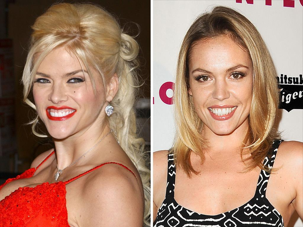 """Private Practice"" star Agnes Bruckner will play the late Anna Nicole Smith. The 27-year-old actress revealed to <a href=""https://ec.yimg.com/ec?url=http%3a%2f%2fwww.etonline.com%2fmovies%2f126889_Agnes_Bruckner_on_Portraying_Anna_Nicole_Smith_in_Lifetime_Film%2findex.html%26quot%3b%26gt%3bEntertainment&t=1503228558&sig=kFGFvOiyIZDNpyo7UsJYyQ--~D Tonight</a> that she had to dye her brunette locks platinum blond, wear prosethetics, and pile on the makeup in order to look the part of Anna Nicole. Bruckner also had to do extensive research — watching clips and reading articles about the iconic supermodel — to perfect Anna Nicole's mannerisms and Southern accent."