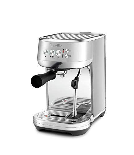 """<p><strong>Breville</strong></p><p>amazon.com</p><p><strong>$499.95</strong></p><p><a href=""""https://www.amazon.com/dp/B07JVD78TT?tag=syn-yahoo-20&ascsubtag=%5Bartid%7C10055.g.29069348%5Bsrc%7Cyahoo-us"""" rel=""""nofollow noopener"""" target=""""_blank"""" data-ylk=""""slk:Shop Now"""" class=""""link rapid-noclick-resp"""">Shop Now</a></p><p>The Breville Bambino Plus is <strong>a</strong> <strong>perfect automatic machine for those who crave the traditional espresso making experience</strong>. It comes with two dual-wall filter baskets for pre-ground coffee beans, a trimming tool, tamper, and a milk jug to be used with the attached steam wand. Choose between a single espresso or a double espresso, plus steamy, frothy, or very frothy milk. In our tests, this machine made espresso that was strong with a crema that wasn't overbearing. </p>"""