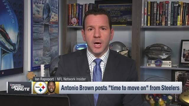 NFL Network's Ian Rapoport discusses the situation between the Pittsburgh Steelers and wide receiver Antonio Brown.