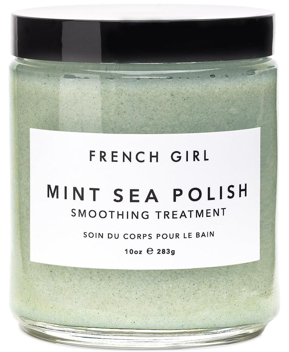 <p>Give the gift of a little R&amp;R with this <span>Mint Sea Polish Smoothing Treatment</span> ($42).</p>