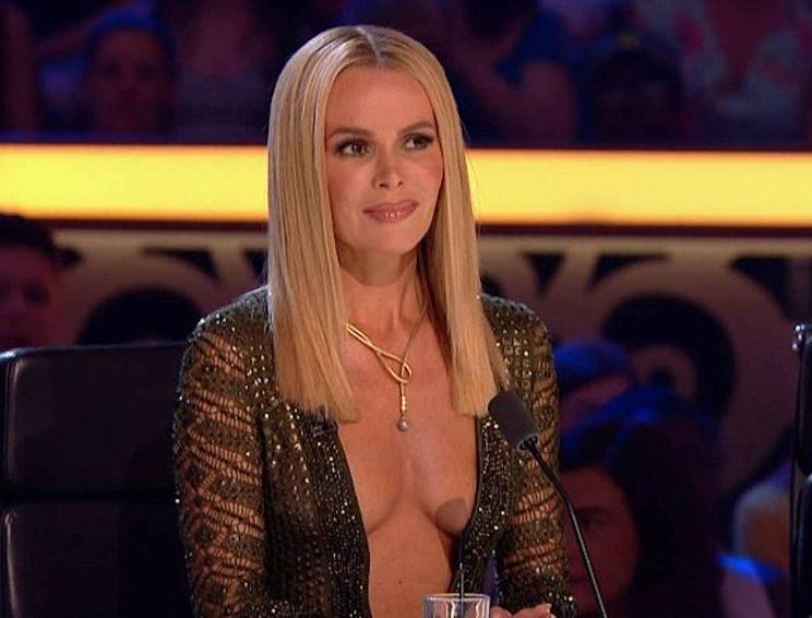 amanda holden britains got talent outfit