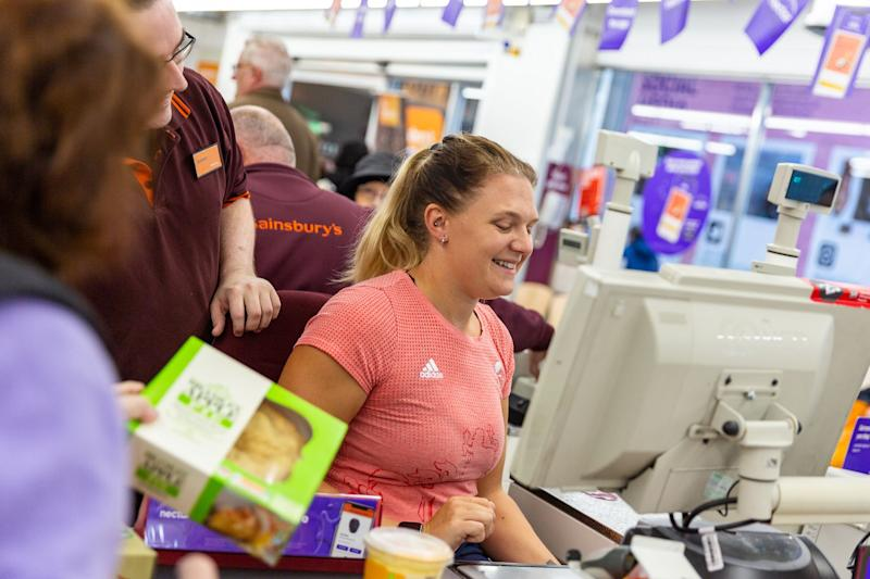 Jordanne Whiley recently paid visit to a Sainsbury's store in Oxford to talk about her goals for Tokyo
