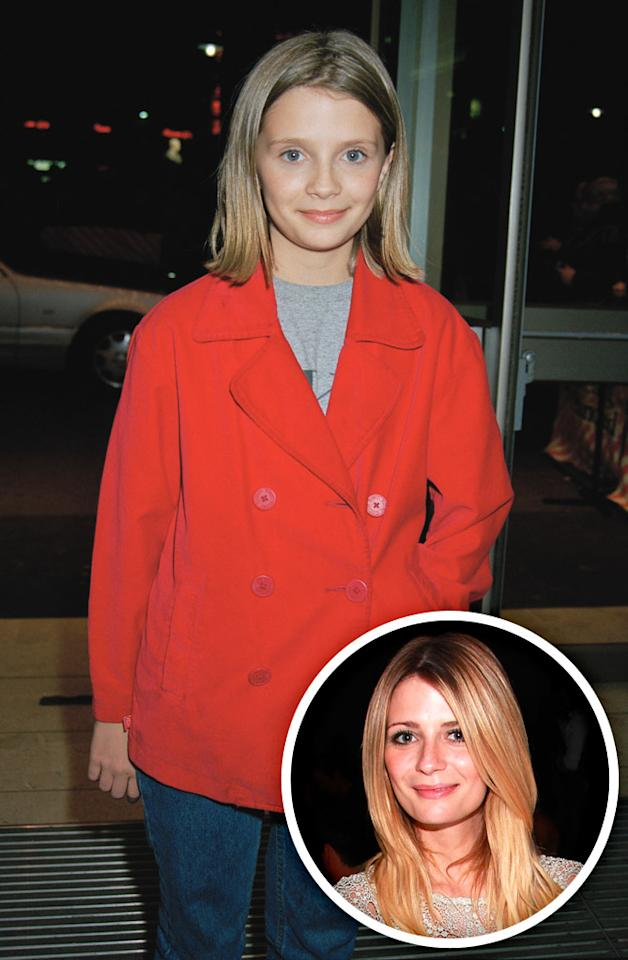 """The O.C."" starlet Mischa Barton later portrayed the role of ""<a href=""/all-my-children/show/28652"">All My Children</a>'s"" Lily Montgomery in 1995."