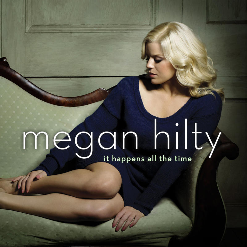 """This publicity photo provided by Sony Masterworks shows the cover for Megan Hilty's debut album, """"It Happens All the Time."""" The album released on March 12, 2013. (AP Photo/Sony Masterworks)"""