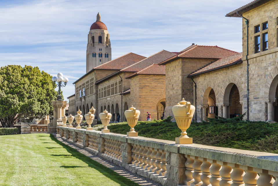 Despite having an endowment of some $27 billion, which ranks in the top five of universities across the country, Stanford has announced it will cut 11 sports because of budgetary concerns. (David Madison/Getty Images)