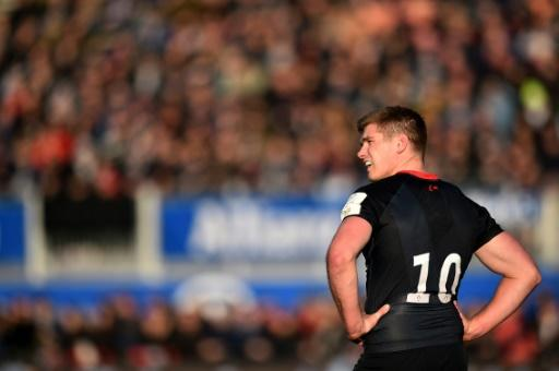 Owen Farrell had a mixed afternoon against Racing 92