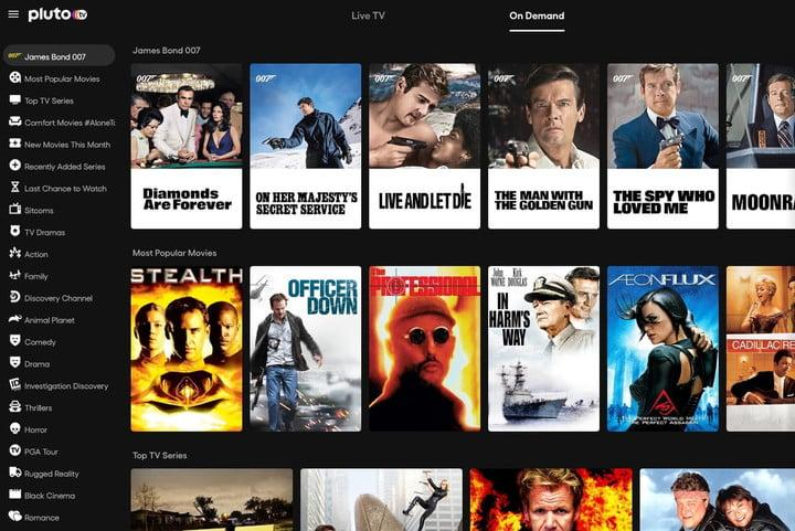 Pluto TV Free Movies and TV