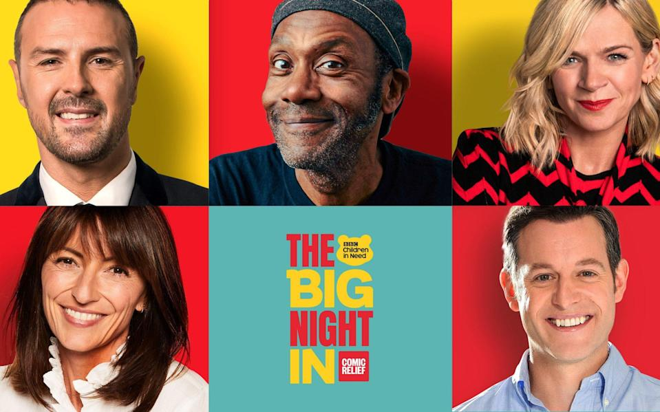 A guide to BBC One's Big Night In: from Little Britain to the Vicar of Dibley