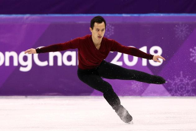 Patrick Chan finished the men's figure skating competition in 9th place.