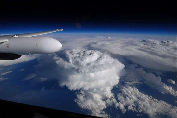 PHOTO: The overshooting top of a thunderstorm as seen from NASA's ER-2 aircraft. (Courtesy of NASA )