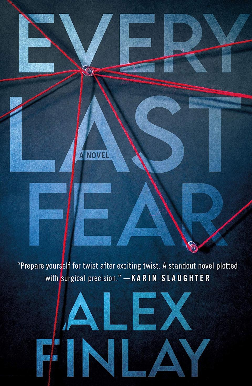 <p>True-crime buffs will devour <span><strong>Every Last Fear</strong></span> by Alex Finlay. Matt Pine's family was made infamous by a true-crime documentary, so when they all end up dead due to an apparent gas leak, the FBI is understandably suspicious. That leaves Matt to return home to bury his family and unravel the dark mystery surrounding their deaths. </p> <p><em>Out March 2</em></p>