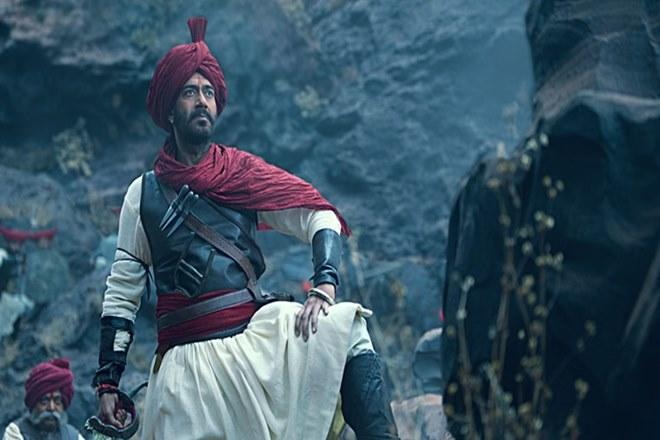 Tanhaji box office report, tanhaji box office collection, Tanhaji BO report, ajay devgn, bollywood, box office reports, box office collections, saif ali khan, kajol, sharad kelkar, sumit kadel, taran adarsh, tanaji malusare, tanhaji defence staff chiefs, tanhaji 200 crore club