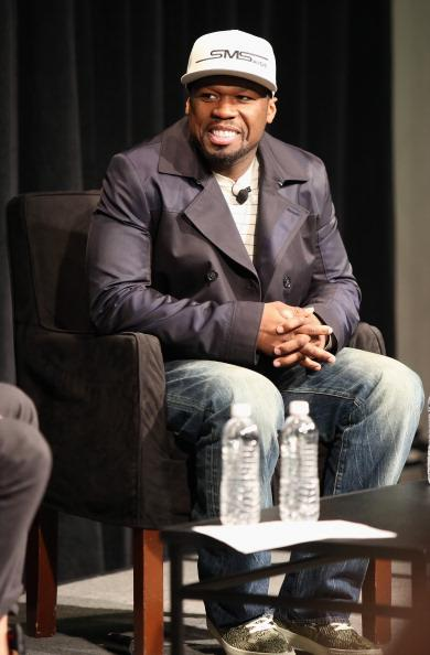 Recording artist 50 Cent speaks onstage at SXSW Interview: 50 Cent during the 2013 SXSW Music, Film + Interactive Festival at Austin Convention Center on March 16, 2013 in Austin, Texas.