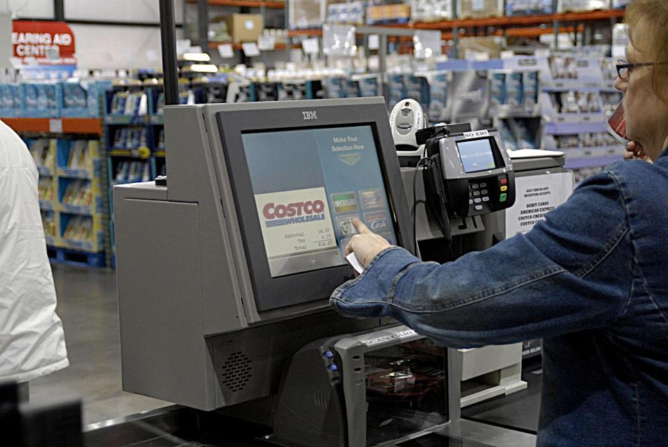 """<p>Costco pays their employees way more than the competition. According to a profile by <a href=""""https://www.bloomberg.com/news/articles/2013-06-06/costco-ceo-craig-jelinek-leads-the-cheapest-happiest-company-in-the-world"""" rel=""""nofollow noopener"""" target=""""_blank"""" data-ylk=""""slk:Bloomberg"""" class=""""link rapid-noclick-resp"""">Bloomberg</a>, Costco workers make an average of $20.89 an hour versus Walmart's $12.67.</p>"""