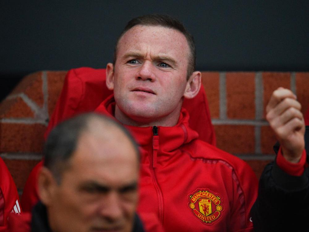 Rooney has not started a match since 4 March (Getty)