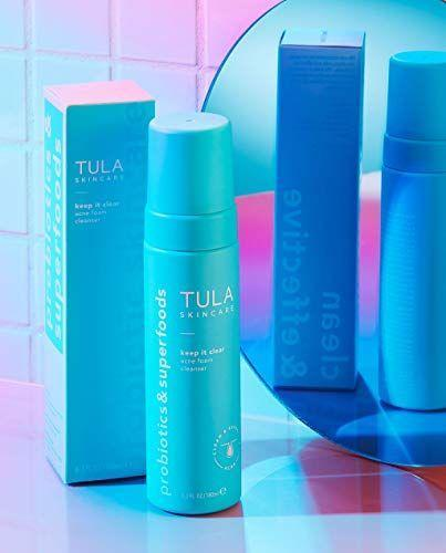"""<p><strong>TULA</strong></p><p>amazon.com</p><p><strong>$34.00</strong></p><p><a href=""""https://www.amazon.com/dp/B07YCVZR83?tag=syn-yahoo-20&ascsubtag=%5Bartid%7C2164.g.36179565%5Bsrc%7Cyahoo-us"""" rel=""""nofollow noopener"""" target=""""_blank"""" data-ylk=""""slk:Shop Now"""" class=""""link rapid-noclick-resp"""">Shop Now</a></p><p>This cleanser works double duty! It contains 2 percent salicylic acid to help to fight acne, while amazing licorice root brightens the appearance of old blemish marks. </p>"""