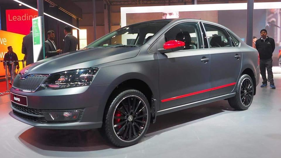 SKODA RAPID Matte Edition to be launched in India soon