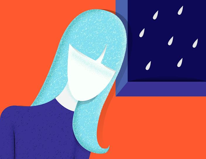 """<span class=""""caption"""">One-fifth of U.S. teen girls reported experiencing major depression in 2017.</span> <span class=""""attribution""""><a class=""""link rapid-noclick-resp"""" href=""""https://www.shutterstock.com/image-vector/sad-unhappy-teenage-girl-young-woman-1298221180"""" rel=""""nofollow noopener"""" target=""""_blank"""" data-ylk=""""slk:Tgraphic/Shutterstock.com"""">Tgraphic/Shutterstock.com</a></span>"""