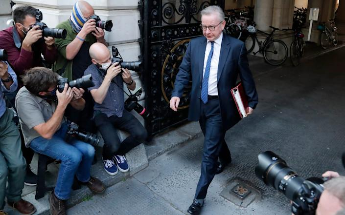 Michael Gove  - AP Photo/Frank Augstein