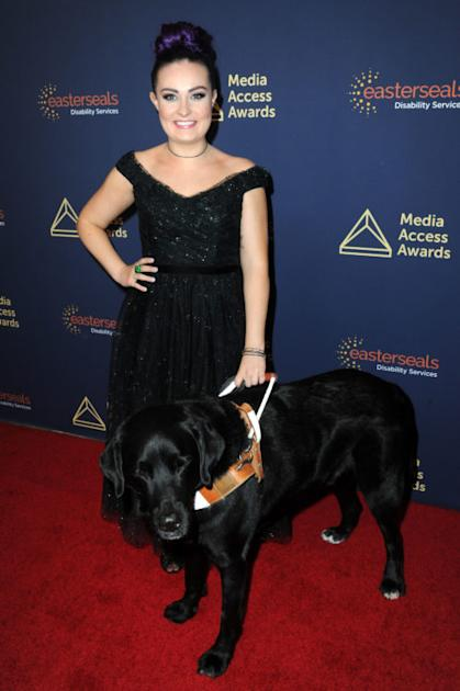 BEVERLY HILLS, CA - NOVEMBER 14: Molly Burke attends the 40th Annual Media Access Awards In Partnership With Easterseals at The Beverly Hilton Hotel on November 14, 2019 in Beverly Hills, California. (Photo by Joshua Blanchard/Getty Images for Media Access Awards )