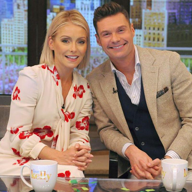 Kelly Ripa Announces Ryan Seacrest as Her New Live! Cohost