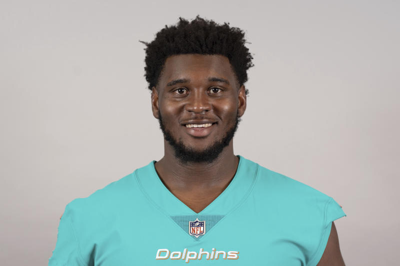 Dolphins' Norton loses arm in vehicle  accident