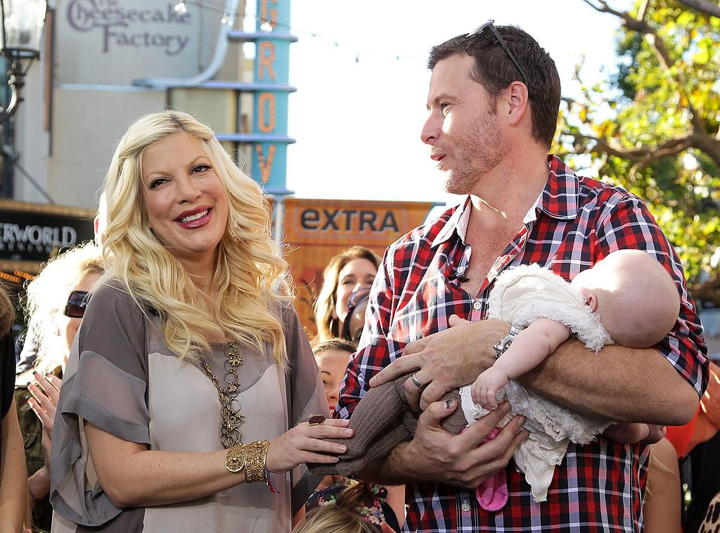 "Tori Spelling and Dean McDermott have ""separated,"" reports Star. The mag reveals the couple, who are expecting their fourth child, has been ripped apart by ""explosive fights and constant tension."" For what's causing their marital problems, and whether they'll divorce before the baby is born, see what a Spelling friend confides to <a target=""_blank"" href=""http://www.gossipcop.com/tori-spelling-dean-mcdermott-divorce-separated-split-2012/"">Gossip Cop</a>."