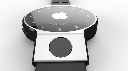 iWatch concept drawing