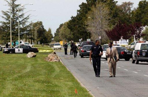 Seven people were killed  when a gunman went on a rampage at a private California religious college near San Francisco