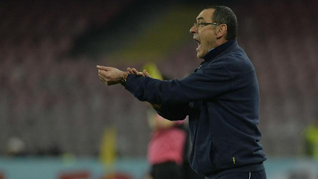 Maurizio Sarri is unimpressed about the prospect of Napoli playing in the Europa League on Thursday and then in Serie A three days later.