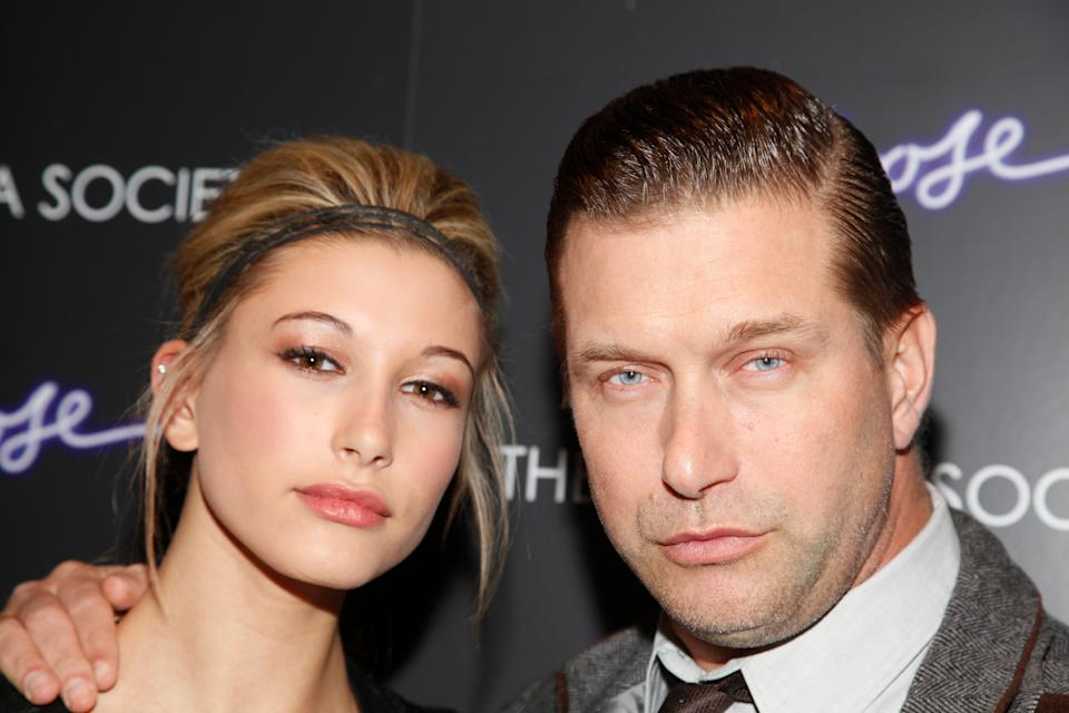 Haley Bieber and dad Stephen Baldwin (pictured in 2011) are endorsing different presidential candidates. (Photo: Charles Eshelman/FilmMagic)