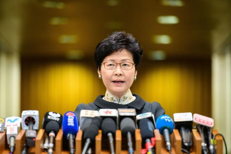 Chief Executive Carrie Lam said the decision not to renew Victor Mallet's work visa was handed down by immigration authorities