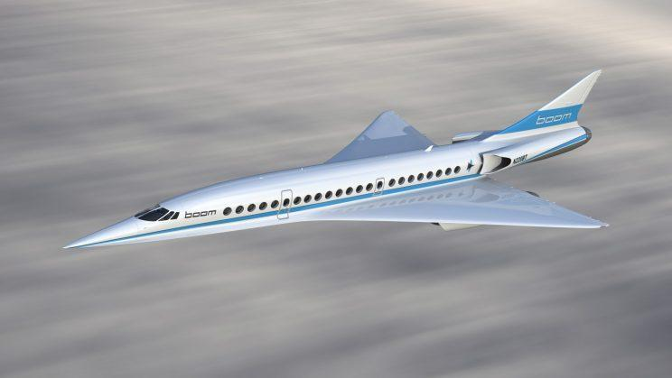 The Supersonic XB-1 should get you from London to New York in 3.5hr [Boom Technology]