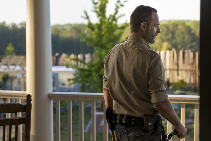 The walking dead 901 rick