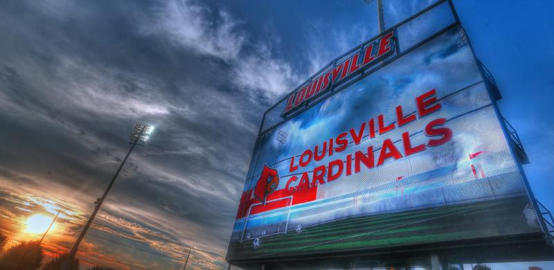 A COVID-19 outbreak among Louisville athletes is linked to a party. (Tony Quinn/Icon Sportswire via Getty Images)