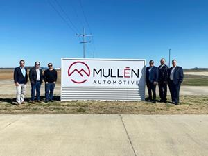 Mullen Executive Team at Tunica Entrance - March 3rd, 2021