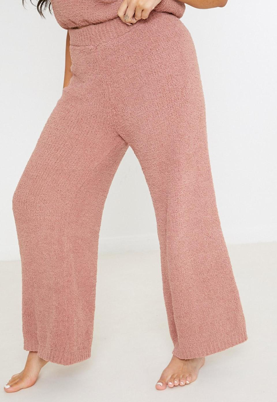 <p>These <span>Missguided Knit Wide-Leg Pants</span> ($24, originally $55) will take you straight from relaxing on the couch to running errands.</p>