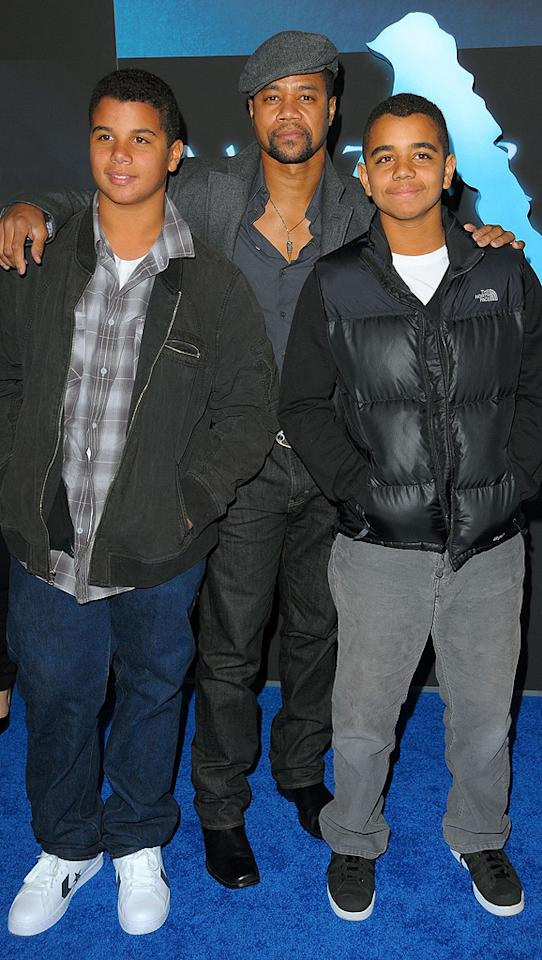 """<a href=""""http://movies.yahoo.com/movie/contributor/1800018797"""">Cuba Gooding Jr.</a> and guests at the Los Angeles premiere of <a href=""""http://movies.yahoo.com/movie/1809804784/info"""">Avatar</a> - 12/16/2009"""