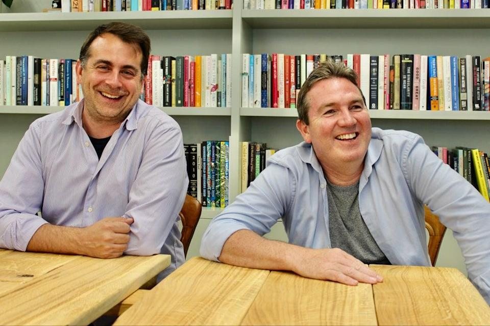 Wagestream co-founders: Portman Wills, CTO, and Peter Briffett, CEO (Wagestream)
