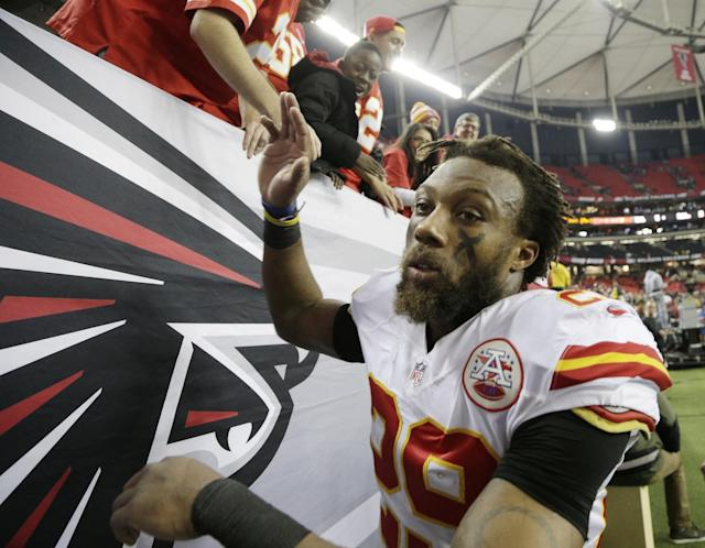 Chiefs All-Pro safety Eric Berry is a prime candidate to receive the franchise tag, but he doesn't want to play that game. (AP)