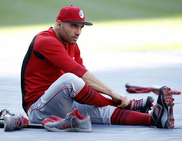 Joey Votto has once again been one of the best players in baseball. (AP Photo)
