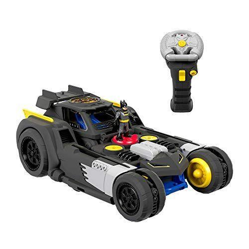 "<p><strong>Imaginext</strong></p><p>amazon.com</p><p><strong>$53.19</strong></p><p><a href=""https://www.amazon.com/dp/B07MFRCV4H?tag=syn-yahoo-20&ascsubtag=%5Bartid%7C10063.g.34832297%5Bsrc%7Cyahoo-us"" rel=""nofollow noopener"" target=""_blank"" data-ylk=""slk:Shop Now"" class=""link rapid-noclick-resp"">Shop Now</a></p><p>One of the breakout stars of the <a href=""https://www.goodhousekeeping.com/childrens-products/toy-reviews/a29465472/good-housekeeping-toy-awards-2019/"" rel=""nofollow noopener"" target=""_blank"" data-ylk=""slk:2019 Good Housekeeping Institute Toy Awards"" class=""link rapid-noclick-resp"">2019 Good Housekeeping Institute Toy Awards</a>, this Batmobile zooms around Gotham, then transforms into a battle station that launches plastic discs at bad guys. <em>Ages 3+</em><br></p>"